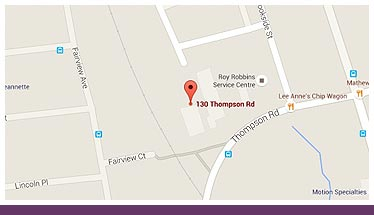 Thompson Medical Centre Location Map